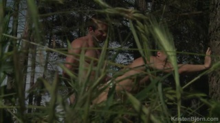horny fuckers playing in the woods