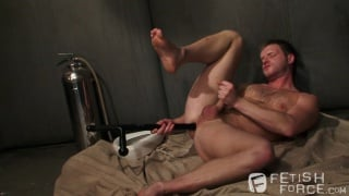 sub plays with his hole til his master is ready
