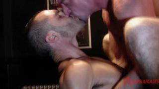 Scott Hunter bottoms for Issac Jones at alpha males