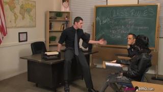 teacher fucks emo in his classroom