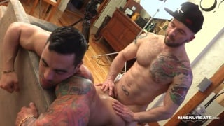 straight muscle hunk elio gets ass fucked first time