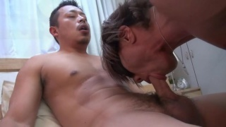White & Japanese Guy in Afternoon Delight