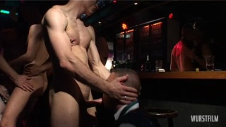 Men Fucking in a Fetish Sex Club