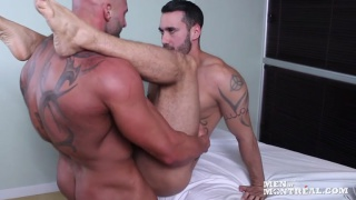 masseur max chevalier fucks client on table