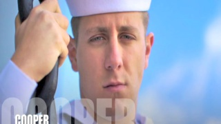 blond sailor beating off