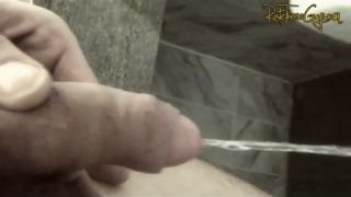 stud his hairy pubes pissing