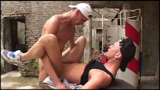 nasty trainer fucks his young client's ass