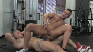 Angelo & JR Bronson Fucking in Falcon's Musclebound