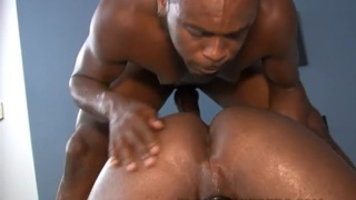 Raunchy Black Men Breeding