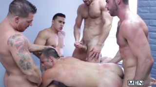 Mike De Marko Pounded by 4 Men