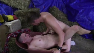 kyle braun takes a big raw cock up his ass