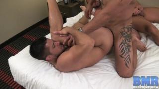 Cum Slut Takes Two Loads of Jizz