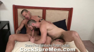 Shane Frost fucks Porter Loutrec at cocksure men
