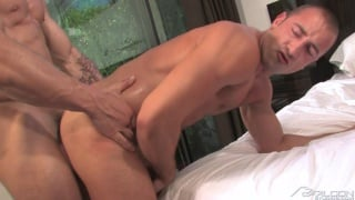 Trenton Ducati pounds Donnie Dean's cute butt