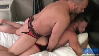 muscle hunk shay michaels gets raw fucked