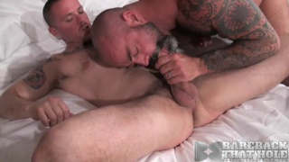 bald daddy gives it to his raw bottom