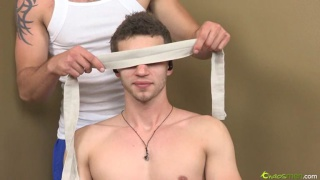 Str8 Guy Lukas Gets Cock Edging