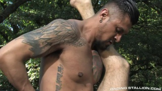 Marcus Isaacs Takes Boomer Banks' 10-Inch Cock