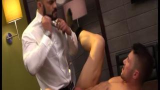 Rogan Richards Drills Marco Rubi at Men at Play