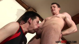 Adam James Sucks Ben Connor's Big Cock