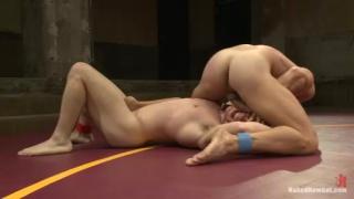 Naked Kombat Wrestling with Doug Acre vs Landon Conrad
