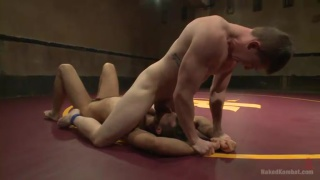 Conrad Logun and Will Parks wrestling & fucking