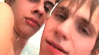 Leonardo and Camil have naked fun
