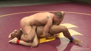 Eli Hunter vs Troy Sparks nude wrestlers