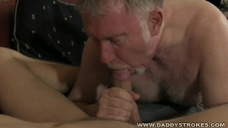 daddy-boy couple make their own video