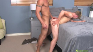 Blond jocks get horny