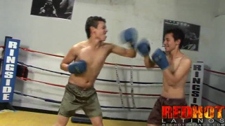 Working Out Top and Bottom in Boxing Ring