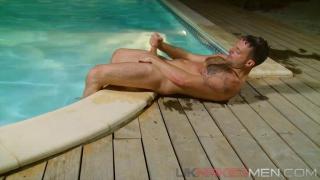 Riley Tess in Swimming Pool