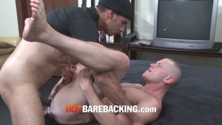 blue bailey's hole stretching fuck