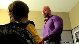 hunky teacher fucks his student's ass