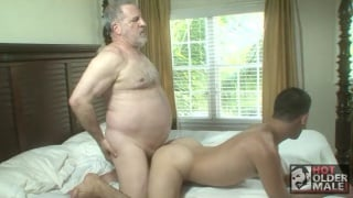 daddy Luciano fucks Theo Devair's young butt