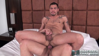 Kyle Savage and Sage Daniels at Bareback That Hole