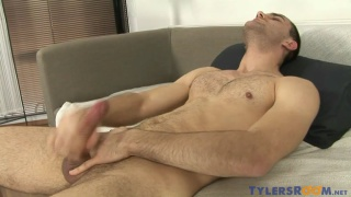 handsome czech guy beating off