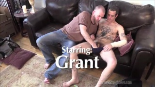 sean gives another hairy guy head