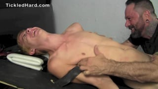 blond cute gets tickled hard