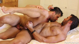 handsome reverend fucking with hunky groom