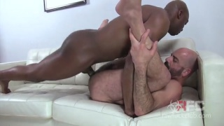 Champ Robinson stuffs huge dick in Adam Russo's ass
