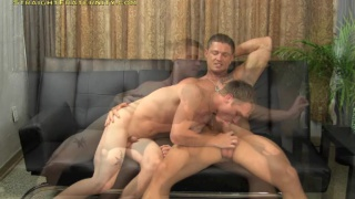 sebastian young teaches new guy how to suck
