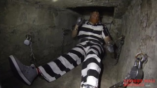 sub in underground cell watched on CCTV