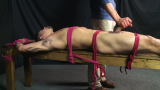 cock edged until he's nearly delirious