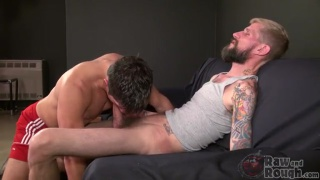 Ryan Jamison and Dylan Saunders at raw and rough