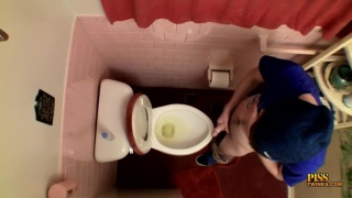 piss bowl spy cam in public toilet
