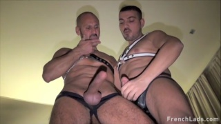 hung italians compare their cocks while jacking off