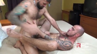 Jon Shield and Cam Christou fucking raw