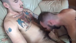 cam christou feeds this cocksucker a load of cum