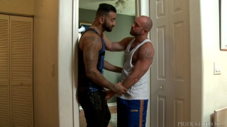 hairy hunk and his puerto rican lover fuck